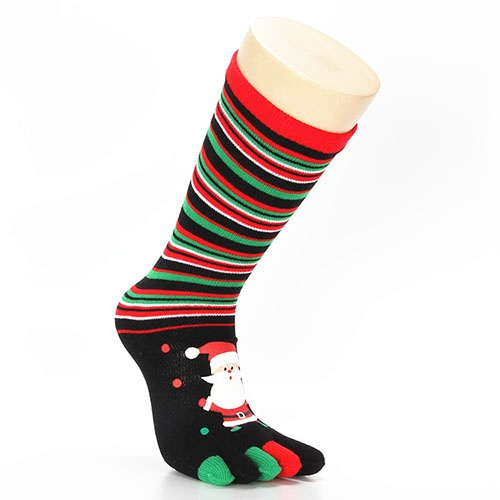 Christmas Five Toes Socks