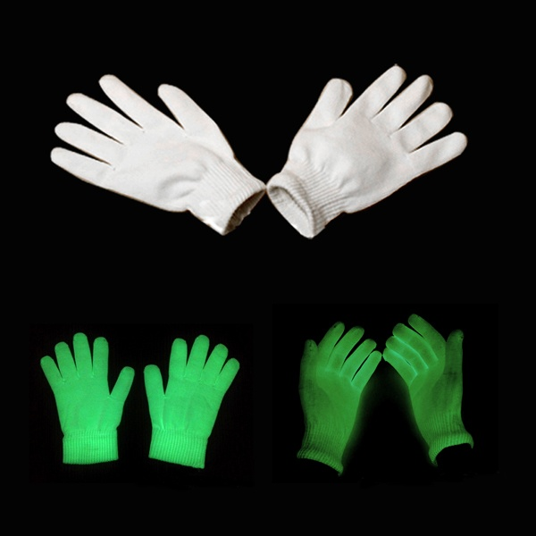 Luminated Rave Kniited Gloves