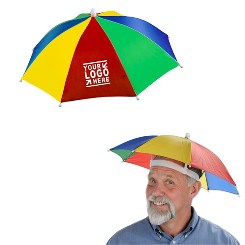 Rainbow Umbrella Hat