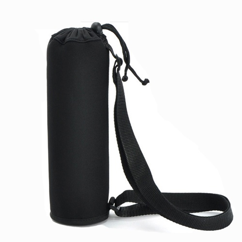 Drawstring Neoprene Water Bottle Holder