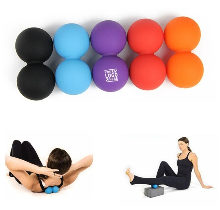 Doulble  Muscle Massage Lacrosse Ball Yoga