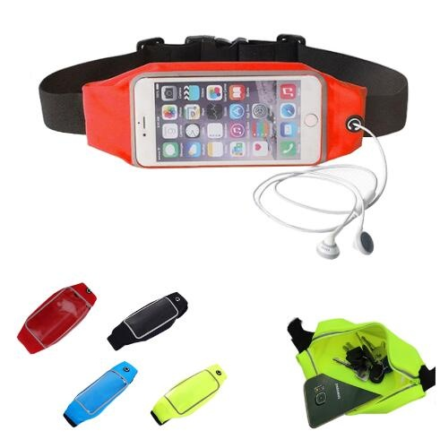 Waterproof Touch Screen Waist Pack Running Belt for Phone