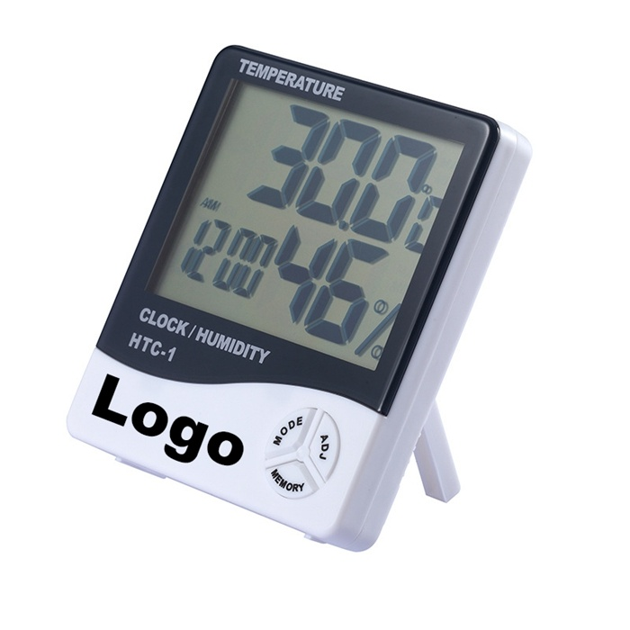 Temperature Humidity Monitor with Lock