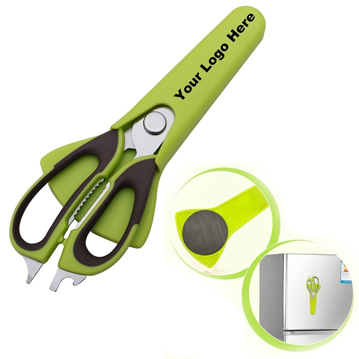 7 in 1 Kitchen Scissor with Magnetic Cover