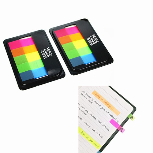 Memo Index Flags Sticky Notes with Box