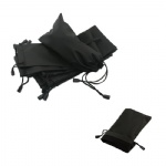 Black PVC Vinyl Storage Bag For Sunglasses/Phone