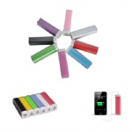 2200 mAh Plastic Pipe Portable Charger For Smart Phones