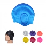 Adults Silicone Swim Caps With Ear Pockets