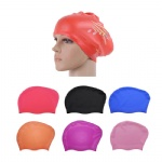 Waterproof Silicone Swim Caps For Long Hair