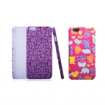 Full Color & Full Wrapped  Imprint Plastic Phone Case