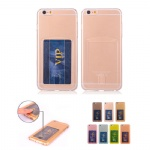 Translucent Plastic Hard Case With Card Hoder