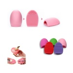 Silicone Face Cleaning Brush Egg