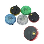 Clip-On Flashing Emergency Warning  LED Light -Round