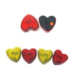 Clip-On Flashing Emergency Warning  LED Light -Heart