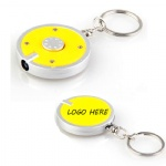 Round LED Keychain Light