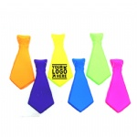 PVC Neon Ties Fancy Dress