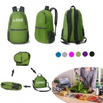 Outdoor Waterproof Pattern Folding Backpack Package Bag
