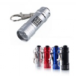 Mini LED Flashlight Torch w/Keychains