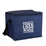 Non Woven Cooler Luch Bag with Zipped Lid Closure