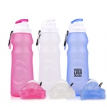Foldable BPA Free Travel Water Bottle