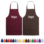 Chef Kitchen Apron With Adjustable Neck Straps And Pockets