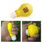 Light Bulb Squeeze Elastic Reliever
