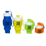 Outdoor Travel Silicone Collapsible Water Bottle