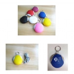 Silicone Earphone Pouch With KeyChain