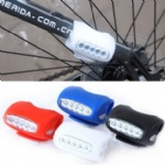 LED Bicycle Waterproof Silicone Safety Light