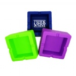 Custom Square Silicone Ashtray