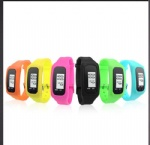 Digital Pedometer Calorie Counter Watch