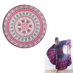 Polyester Round Beach Towel