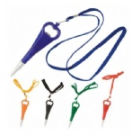 Bottle Opener Magnet Pen with Lanyard