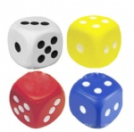 Dice Stress Relief Squeeze Ball