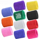 Terry Cotton Sports Sweat Wristband
