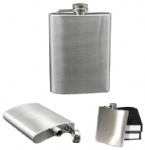 Stainless Steel Flask - 8 OZ