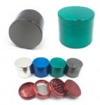4 Layers Metal Tobacco Spice Herb Grinder-55 mm Diam