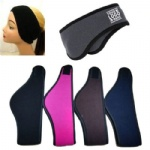 Fleece headband with earmuff