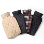 Reversible Water Resistant Plaid Coat Jacket