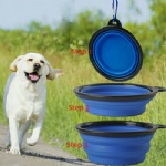 Foldable Expandable Cup Dish for Pet