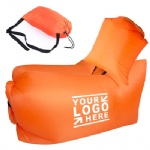 Inflatable Air Chair With Detachable Pillow