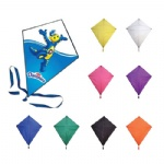 Diamond-Shaped Flying Advertising Kites